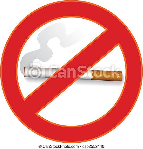 No smoking sign - csp2552440