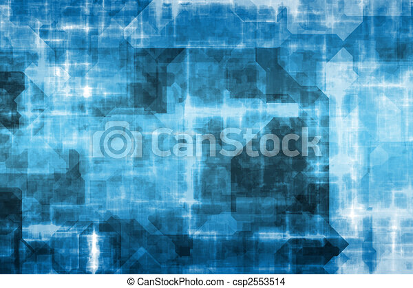 Electrical Current Grid - csp2553514