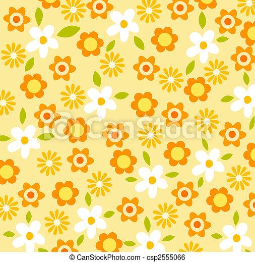 flower pattern background - csp2555066