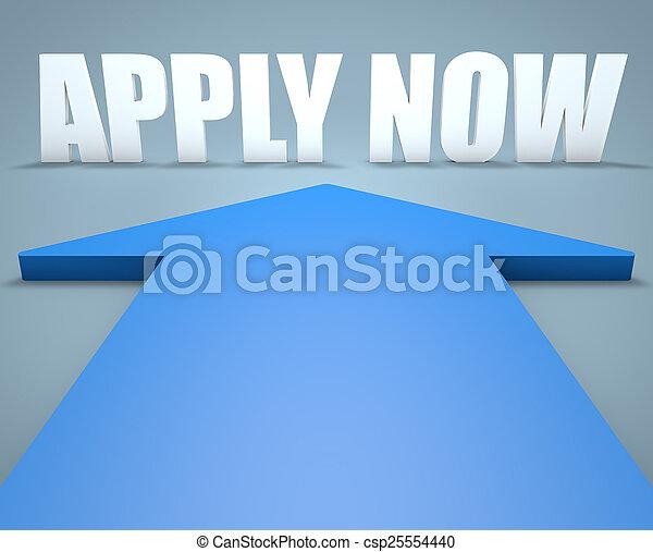 Apply now - csp25554440