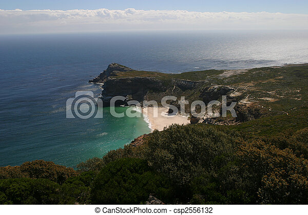 View of cape of good hope in South Africa - csp2556132