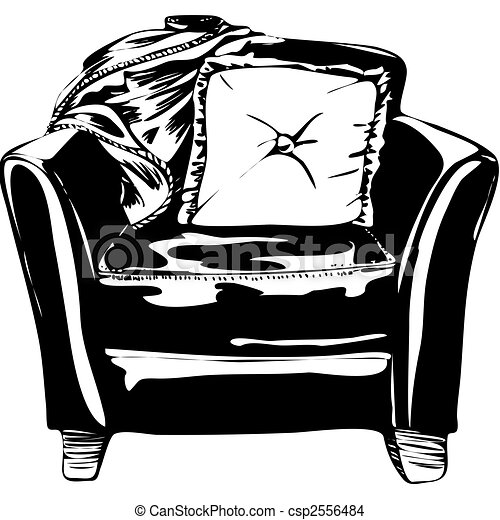Leather Chair - csp2556484