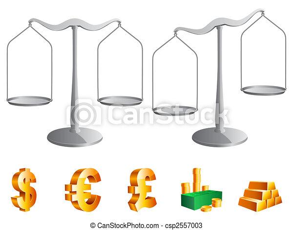 Vector scales. - csp2557003