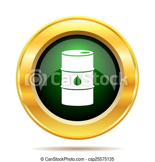 Oil Barrel Drawing Oil Barrel Icon Csp25575135