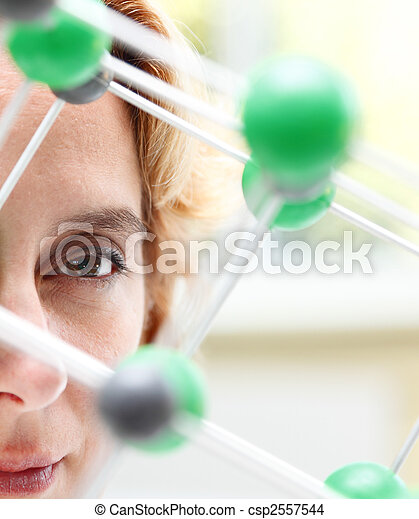 The eye of a researcher - csp2557544