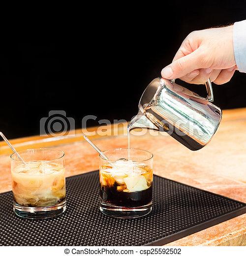 Photographies de pr paration blanc russe cocktails for Cocktail russe blanc