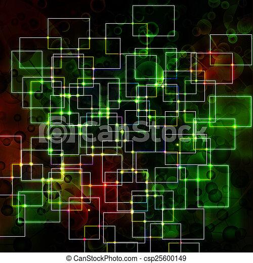 Abstrakt, hintergrund - csp25600149