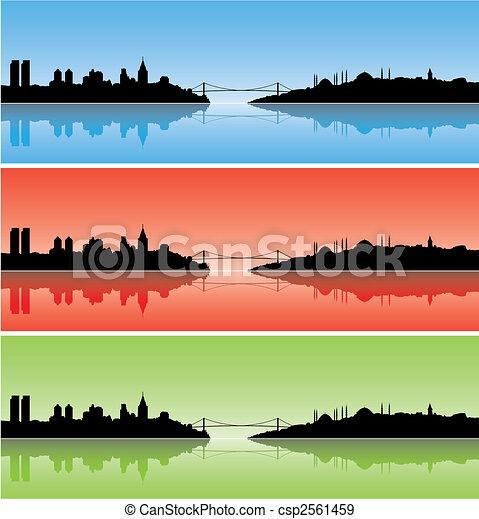 Colourful Istanbul - csp2561459