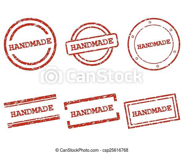 Handmade stamps - csp25616768