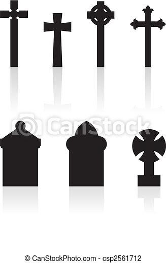 gravestones - csp2561712