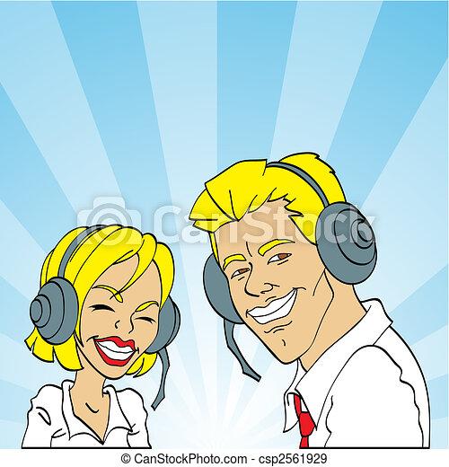 call center, live help - csp2561929