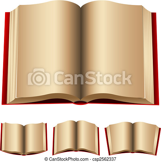 open red books - csp2562337