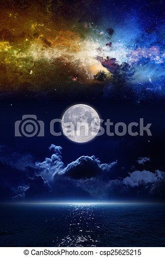 Full moon - csp25625215