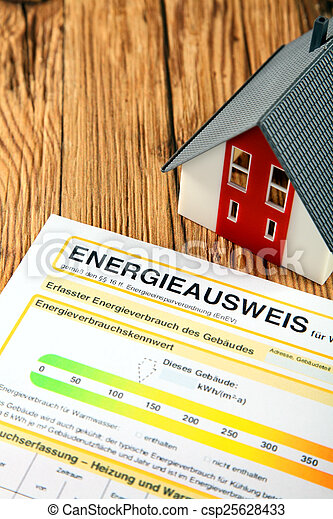 Energy report for a house purchase or sale