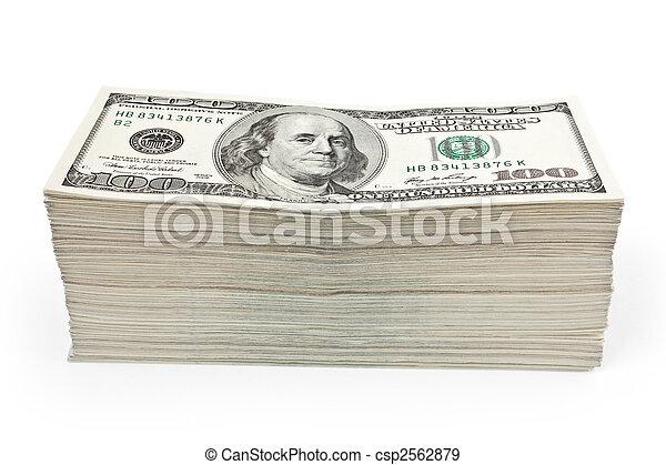 wealth money - csp2562879