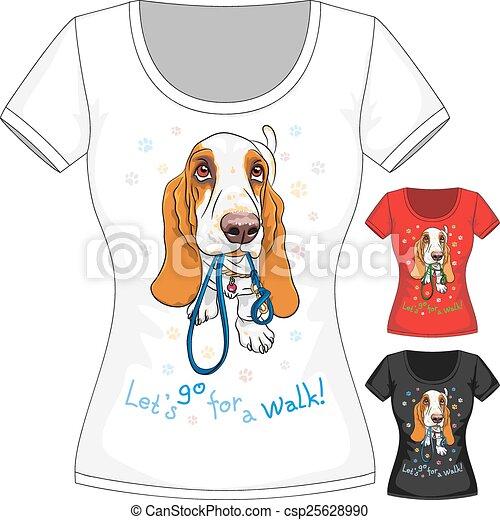 ... 犬, バセット犬, 猟犬 - csp25628990