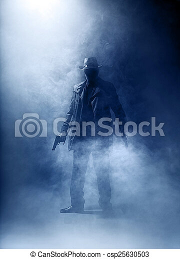 Killer without a face - csp25630503