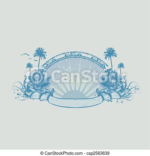 tropical ocean coast - csp2563639