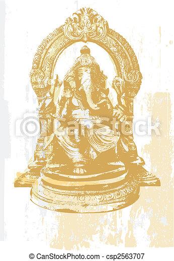 Ganesha - csp2563707