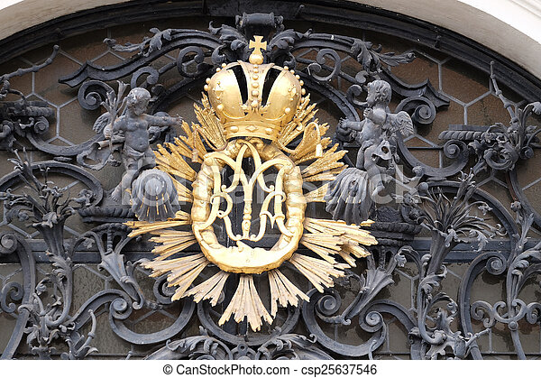 Our Lady monogram