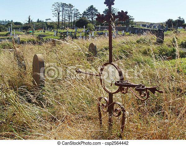 Gravesite - csp2564442