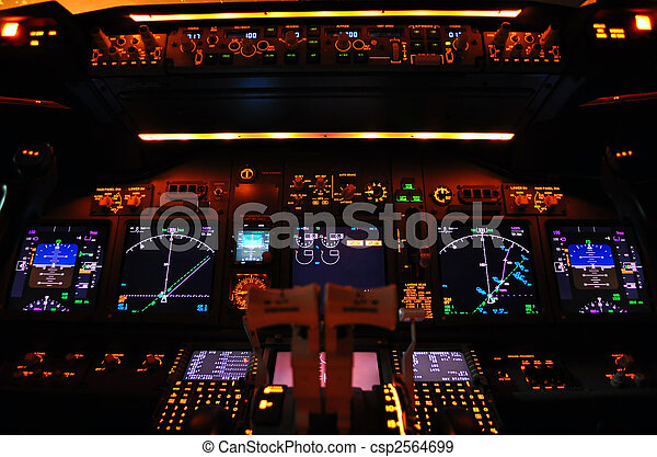 Flight deck - csp2564699