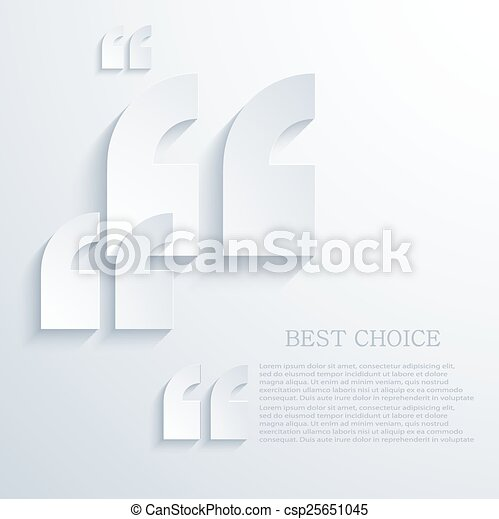 Quote Icons Free Vector Modern Quote Icons