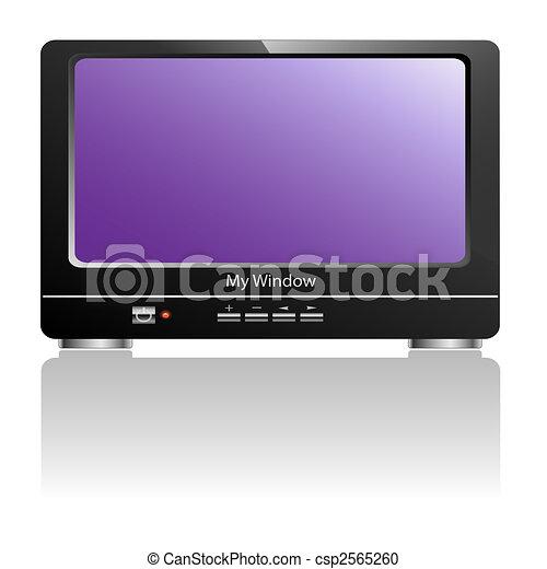 Tv-Television - csp2565260