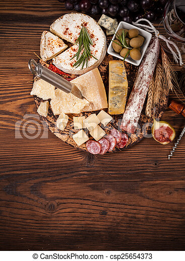 Various kind of cheese