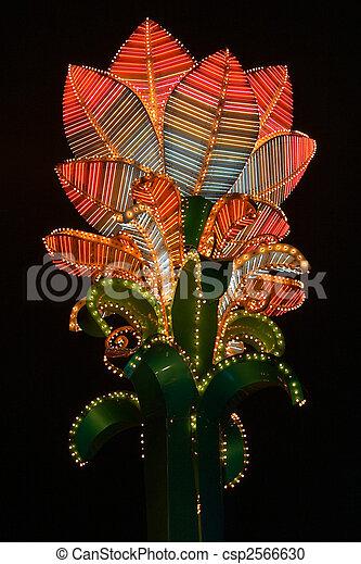 Neon flower - csp2566630