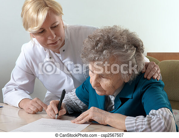 nursing home - csp2567507