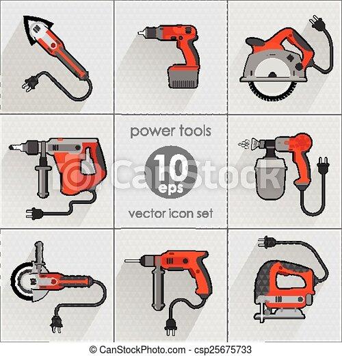 Power Tool Drawings Power Tool Set