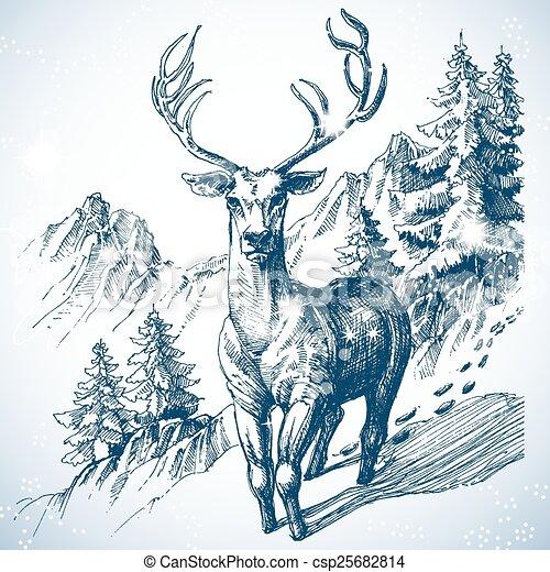 Deer Park Christmas Tree