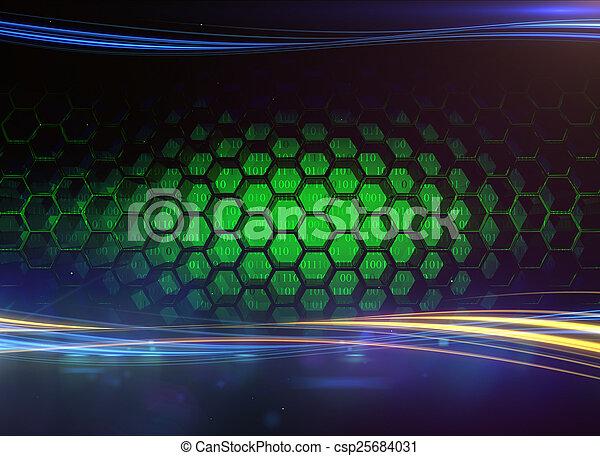 技術, 數字 - csp25684031