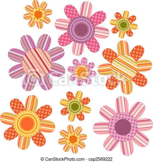 flower backdrop - csp2569222