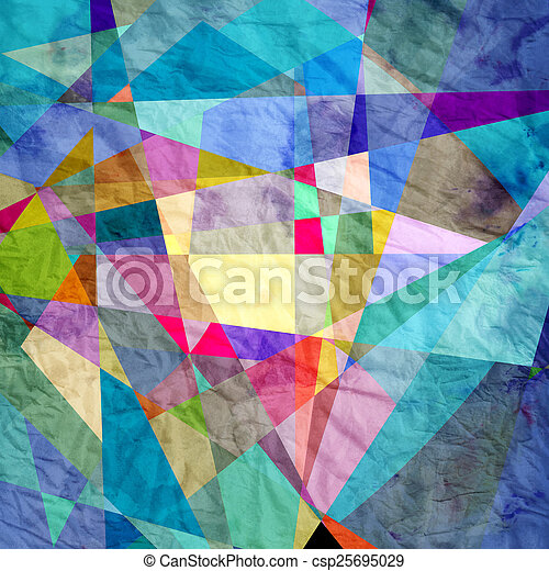 abstract geometric background - csp25695029