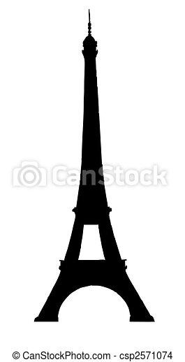 Tour Eifell in Paris - csp2571074