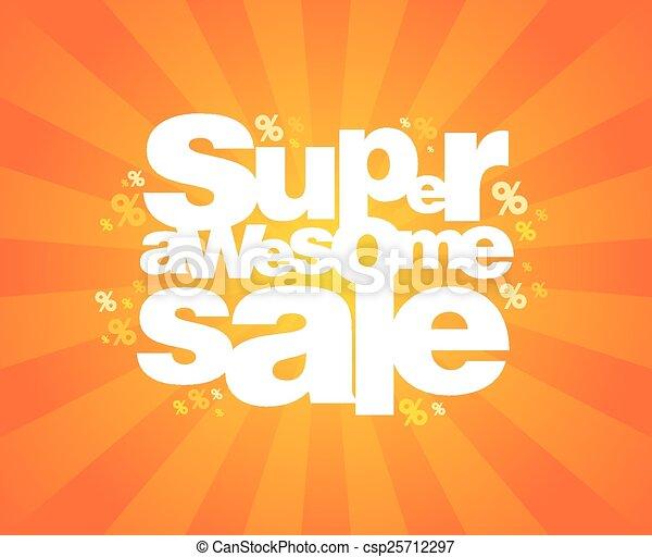 Super sale design template. - csp25712297
