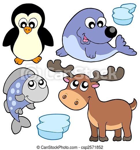 Cute winter illustration - csp2571852