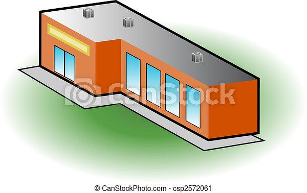 Retail store icon - csp2572061