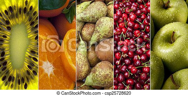 新鮮な果物 - csp25728620