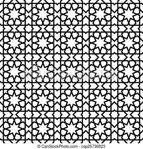 Illustration Vecteur De Modle Style Marocain Mosaque