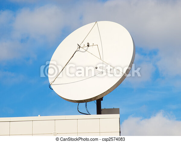 Satellite dish - csp2574083