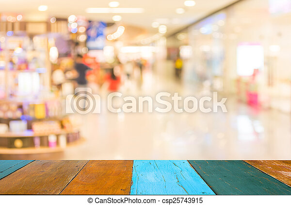 Laden, hintergrund, Bild, einzelhandel, Verwischt - csp25743915
