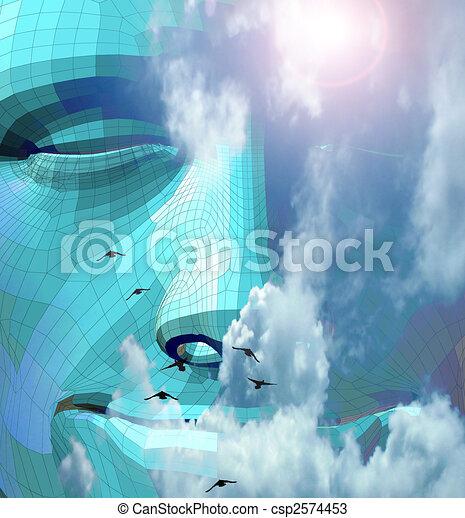 Spiritual Stone - csp2574453