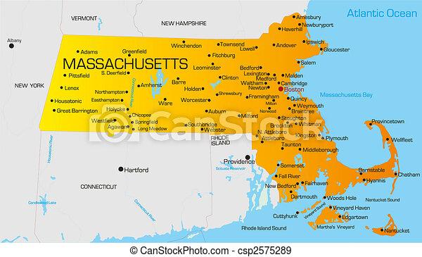 Mapa de Massachusetts   Metro Map   Bus Routes   Metrobus Way Map ...