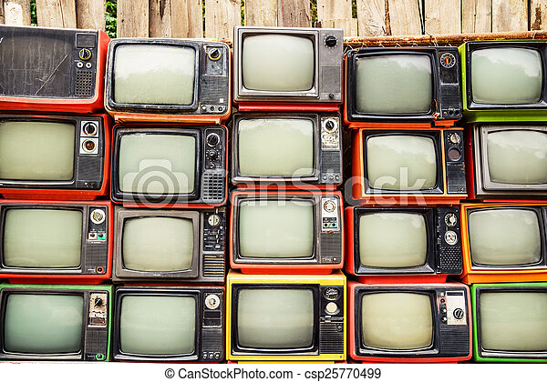 Download image Pile Of Old Tvs PC, Android, iPhone and iPad ...