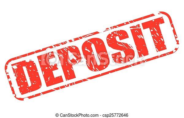 deposited deutsch