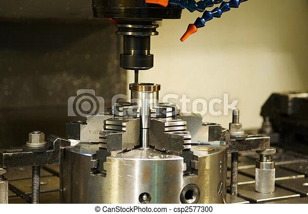 milling the metal blank - csp2577300