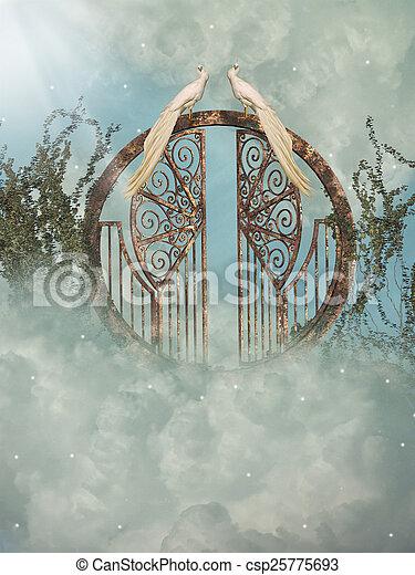 fantasia, paesaggio - csp25775693